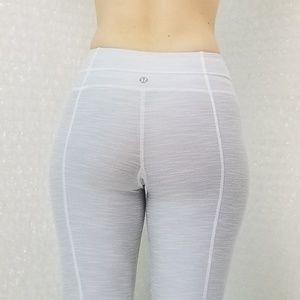 Lululemon grey midrise flare leggings